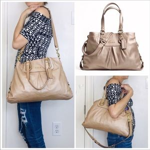 Coach Ashley Leather Convertible Shoulder Bag